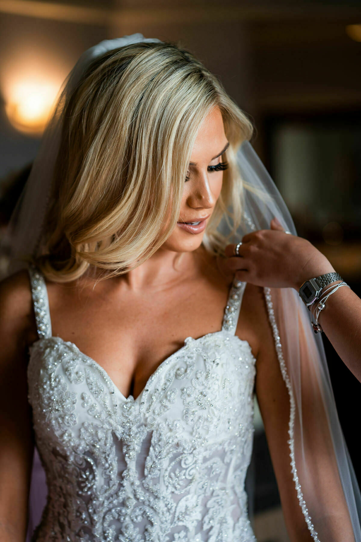 Beautiful bride in Los Angeles