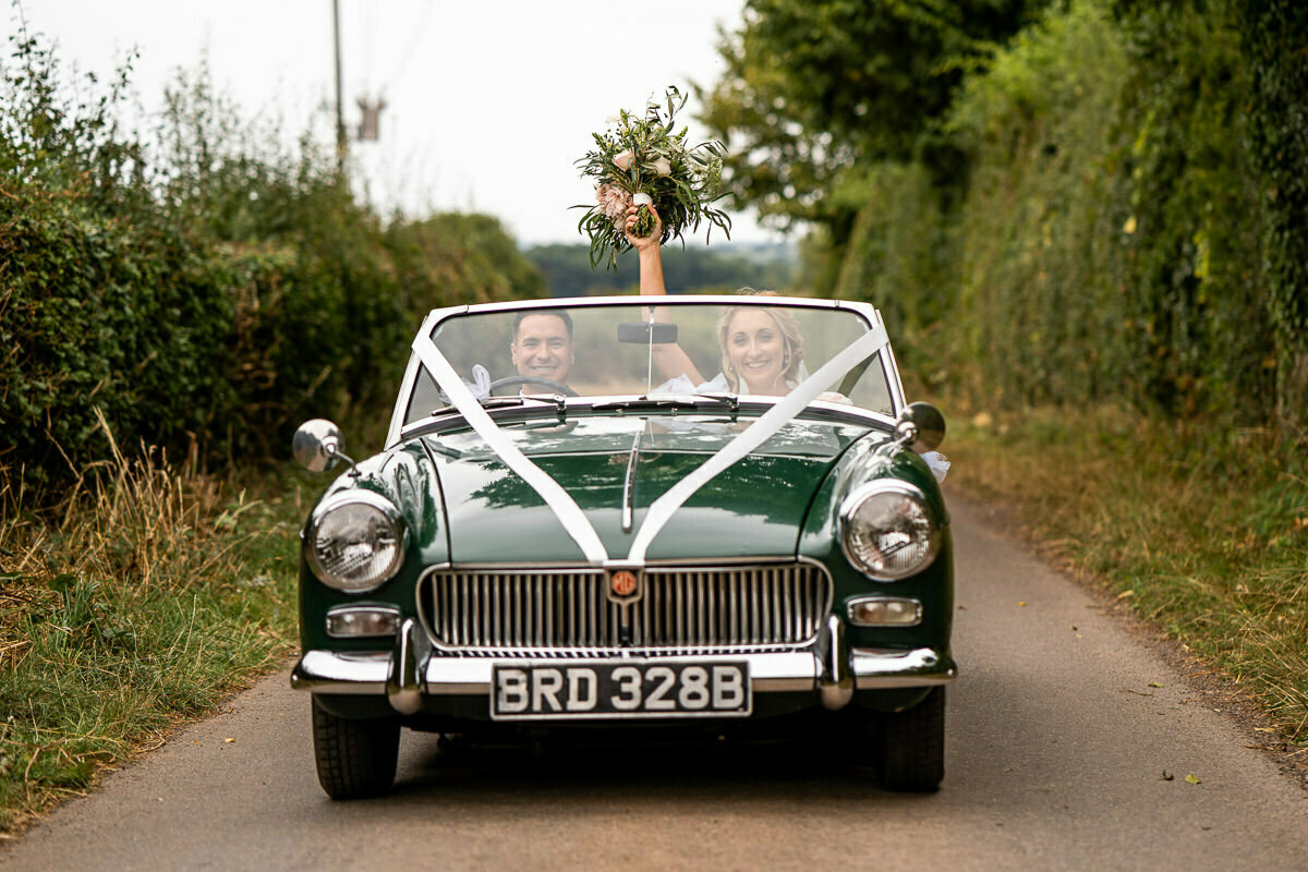 Herefordshire wedding cars