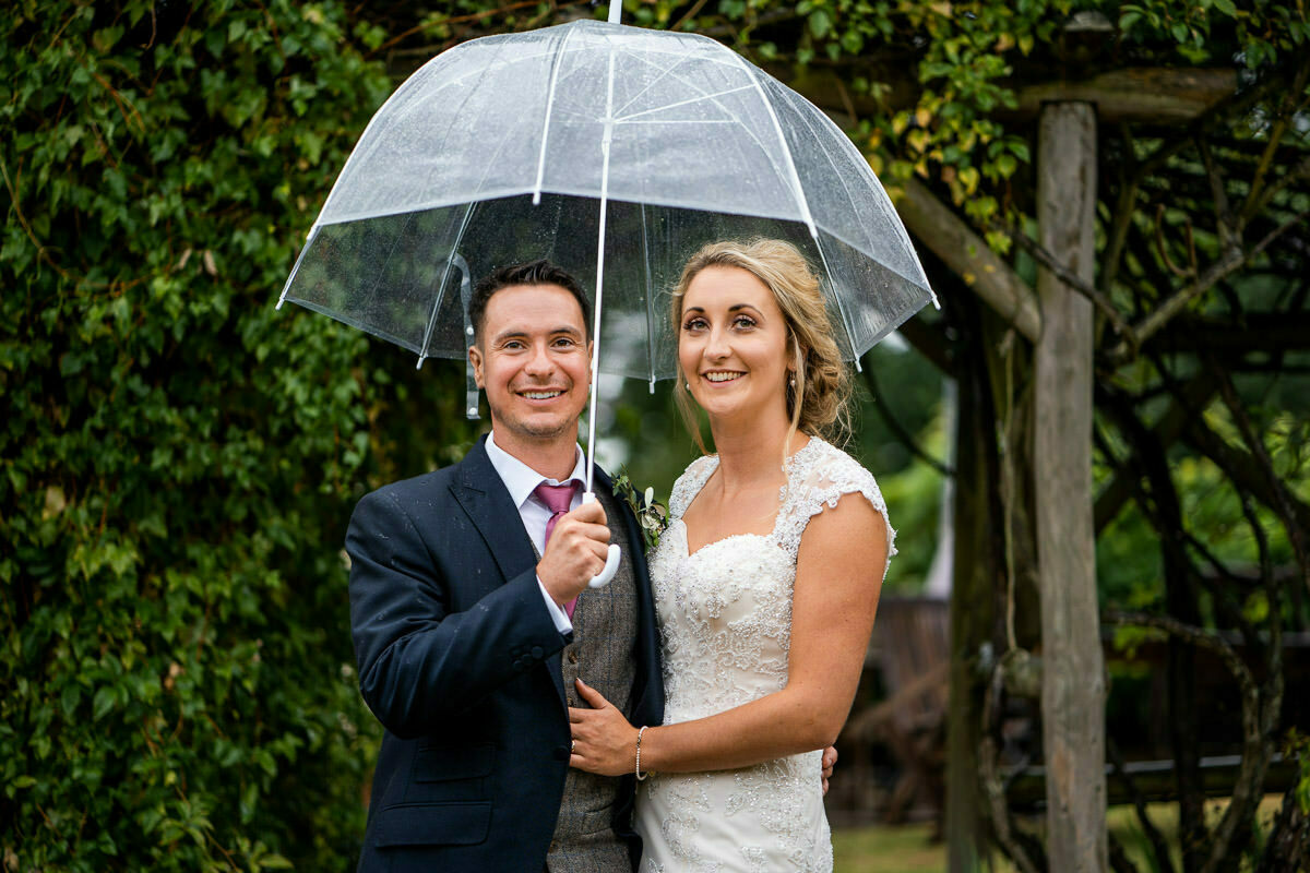 rain on our wedding day