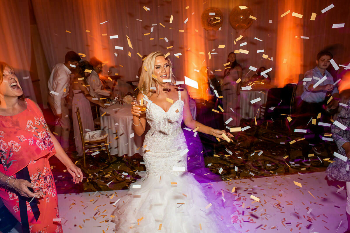 Wedding confetti L.A