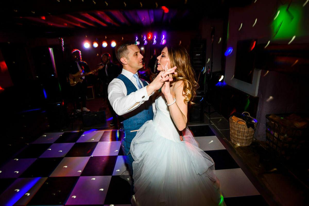First dance at Brinsop court wedding