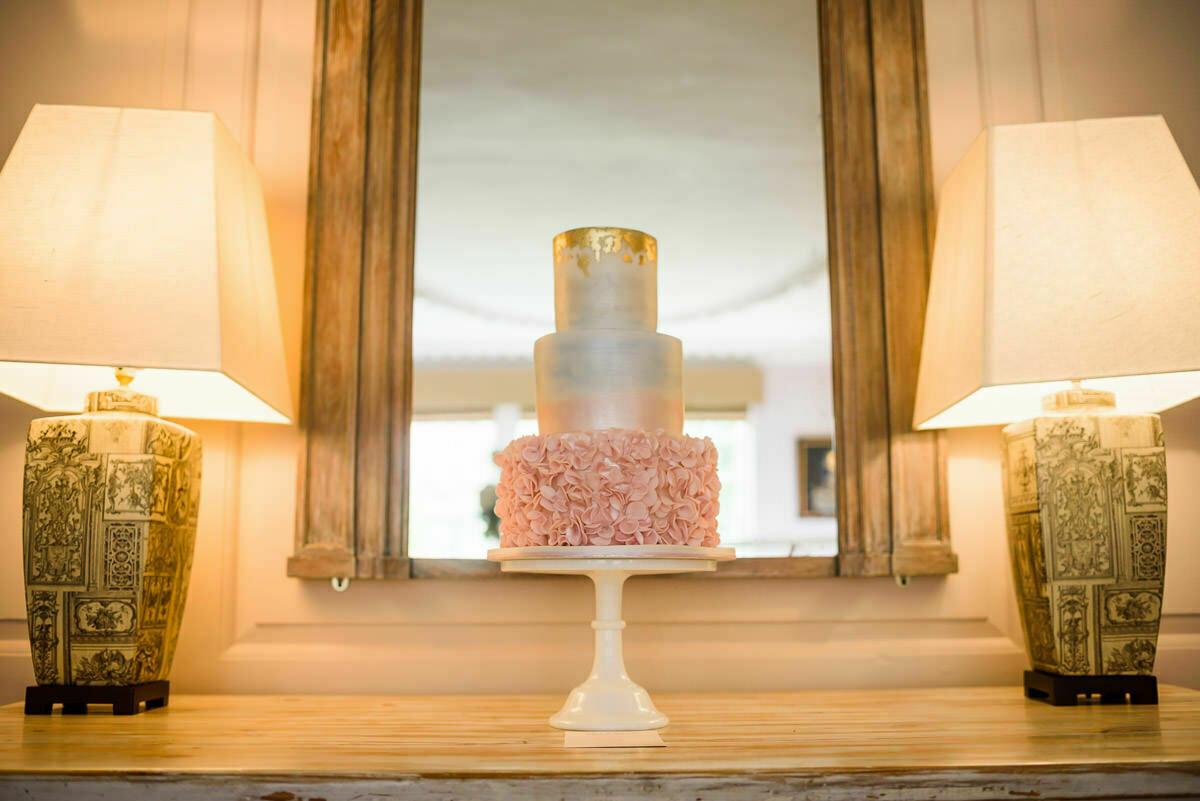 Wedding Cake at Brinsop court