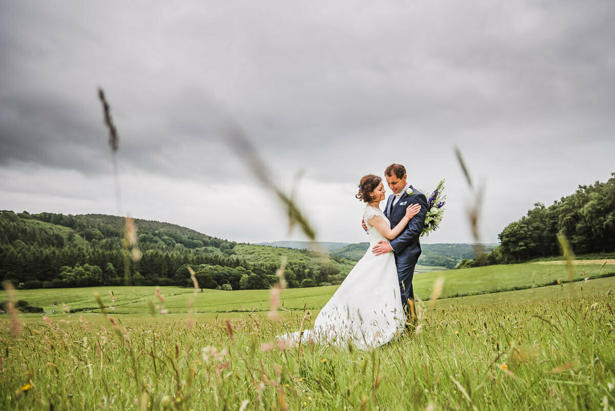 Farm wedding in Herefordshire