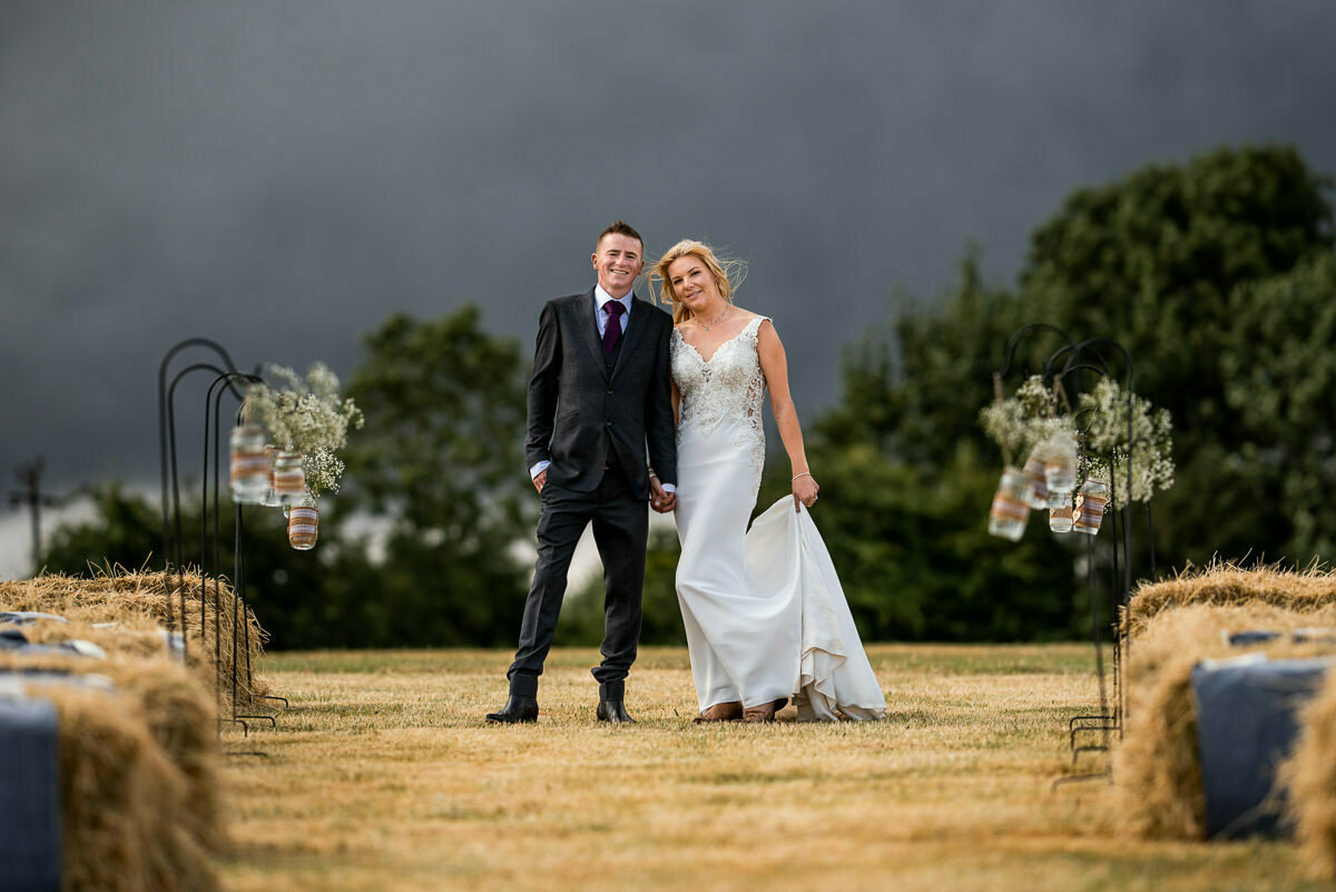 Rainy weddings Herefordshire