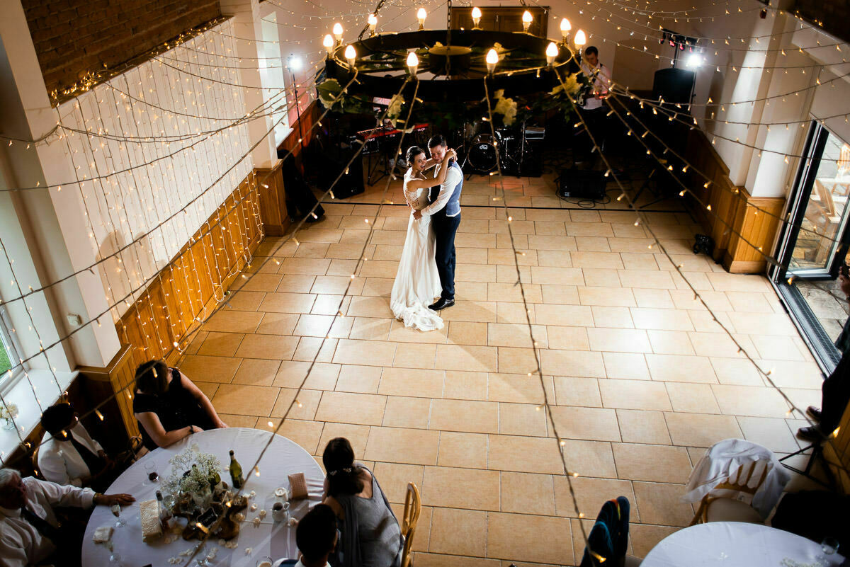 First dance at Delbury Hall
