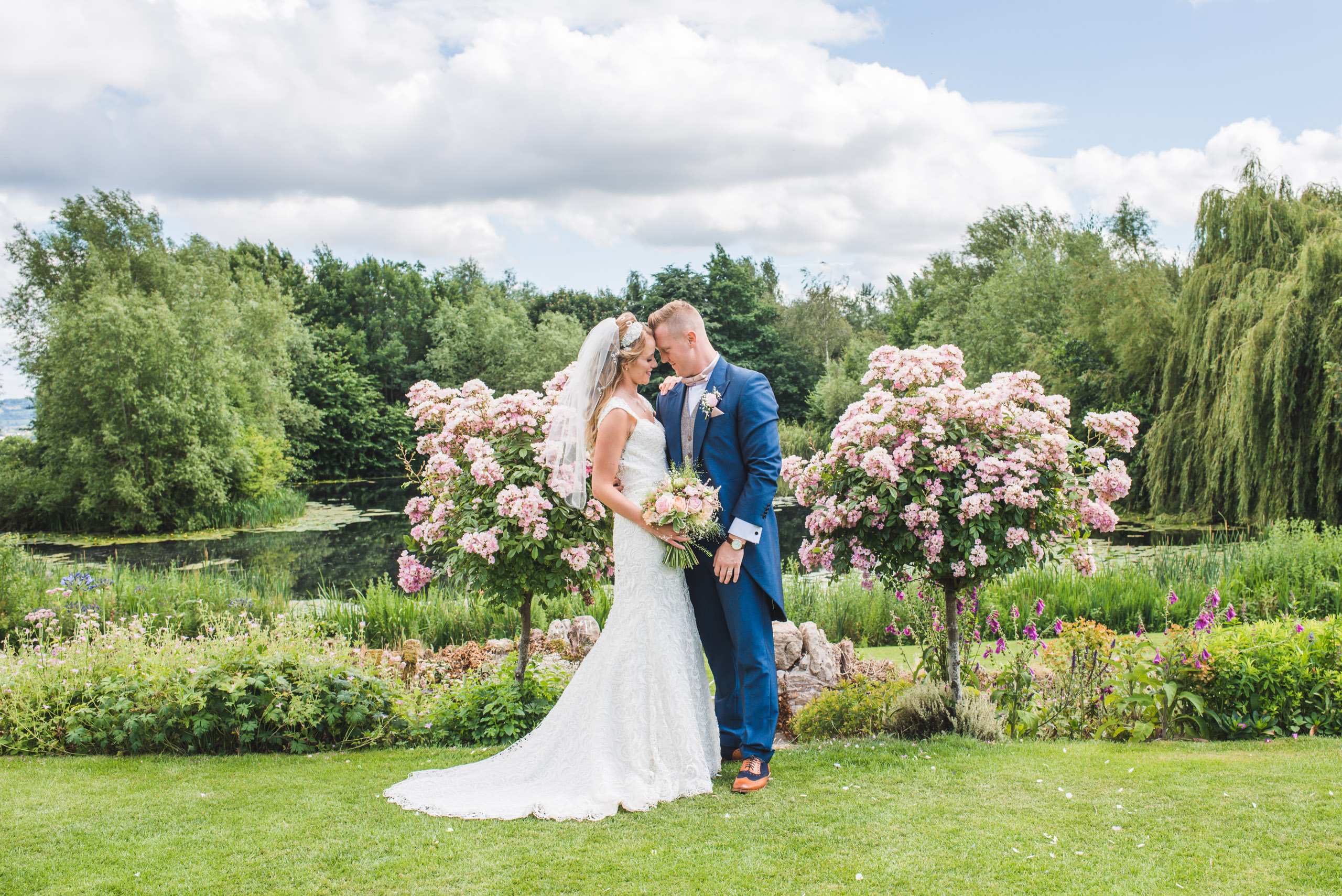 Lyde Arundel wedding, wedding portrait