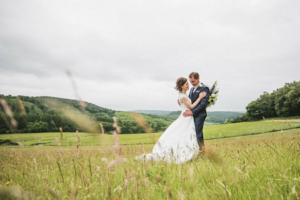 Farmers wedding in Herefordshire
