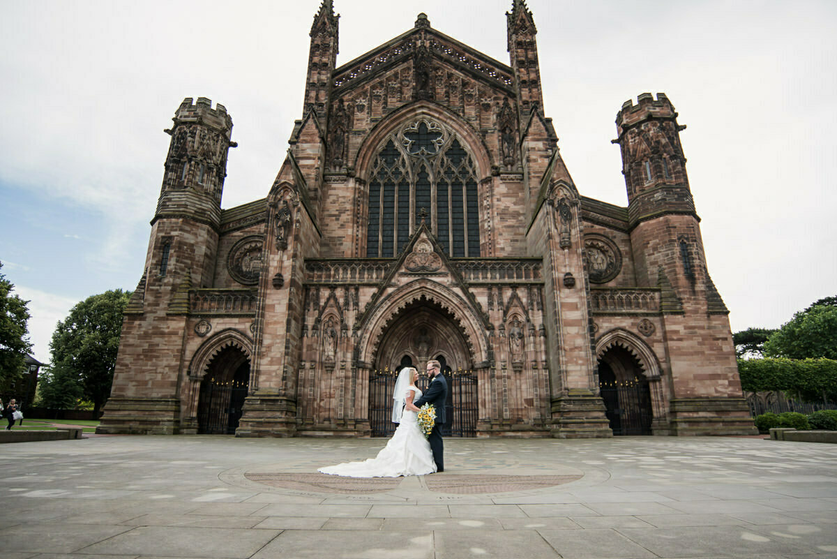 Hereford Cathedral wedding