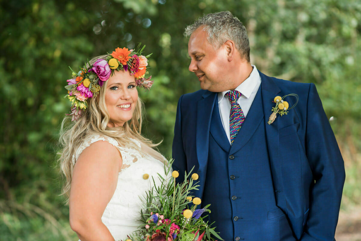 Wedding flowers by Issy and Bella