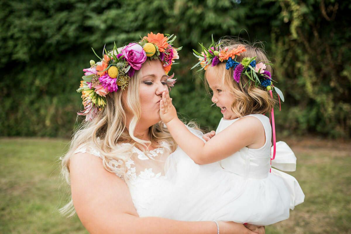 Floral crown, Hereford wedding florist