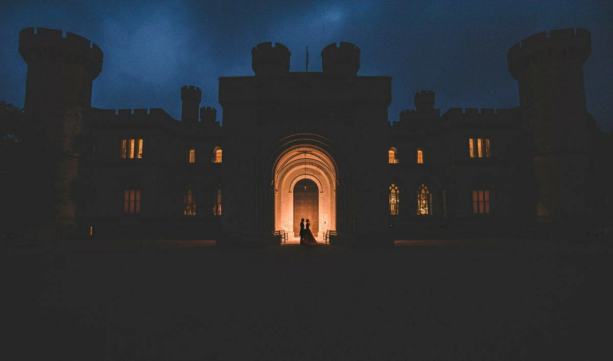 Eastnor castle wedding photographer