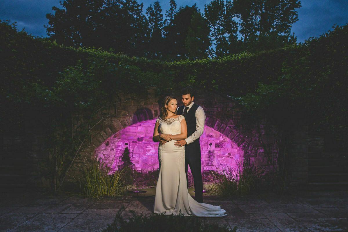 Hereford wedding photographer at bribery house gardens