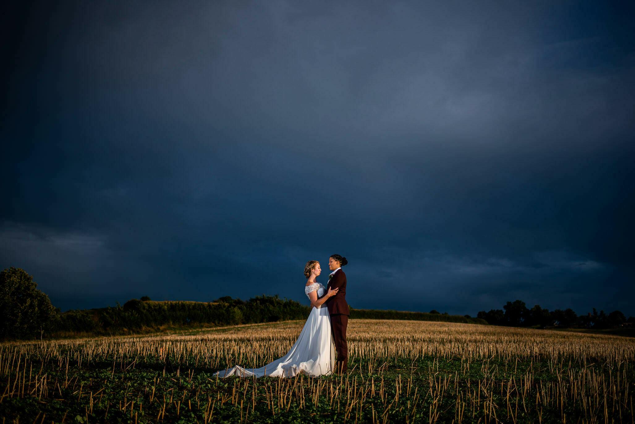 Lyde court barns wedding