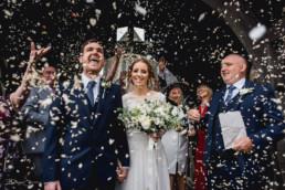 Welsh wedding confetti