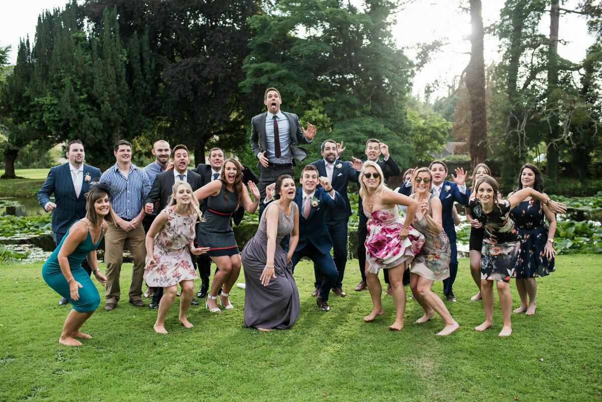 Group photo jump