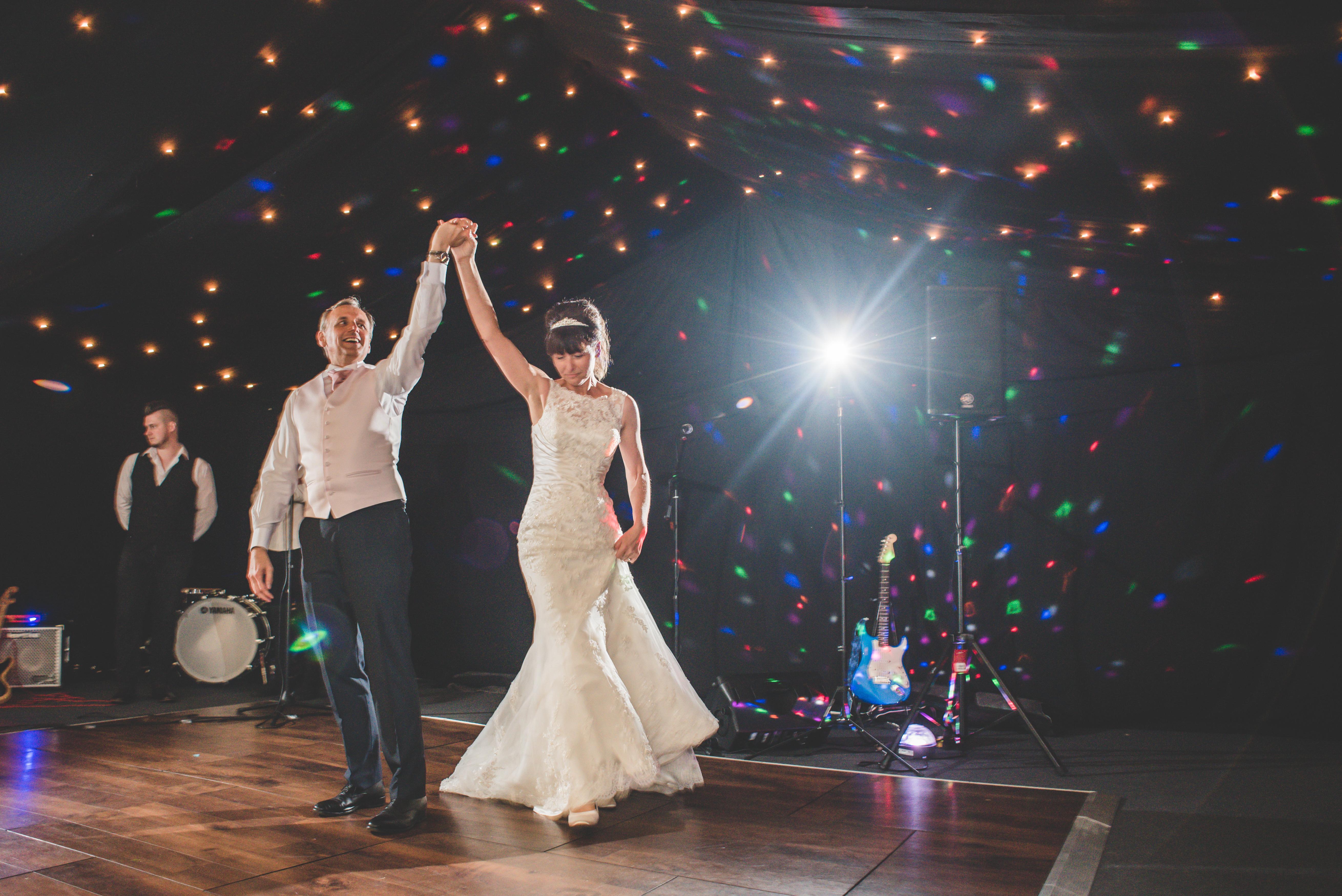 Brobury House wedding first dance