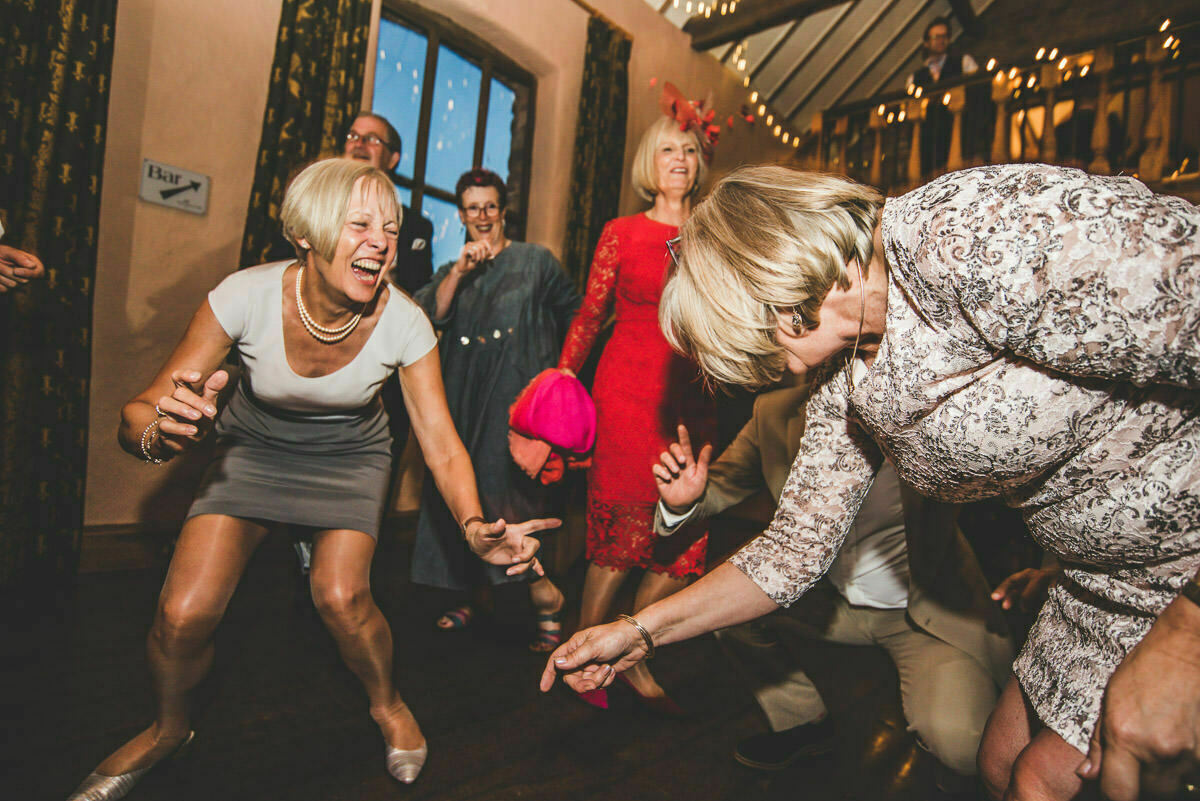 mother of bride dancing