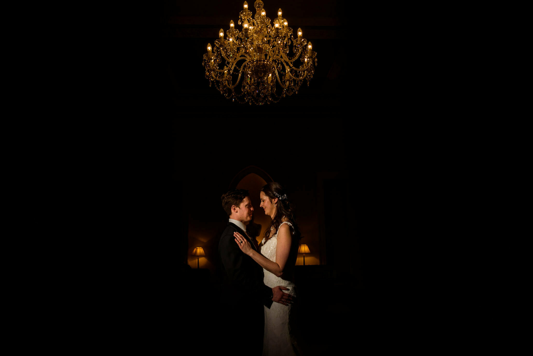 Magmod at clearwell castle wedding