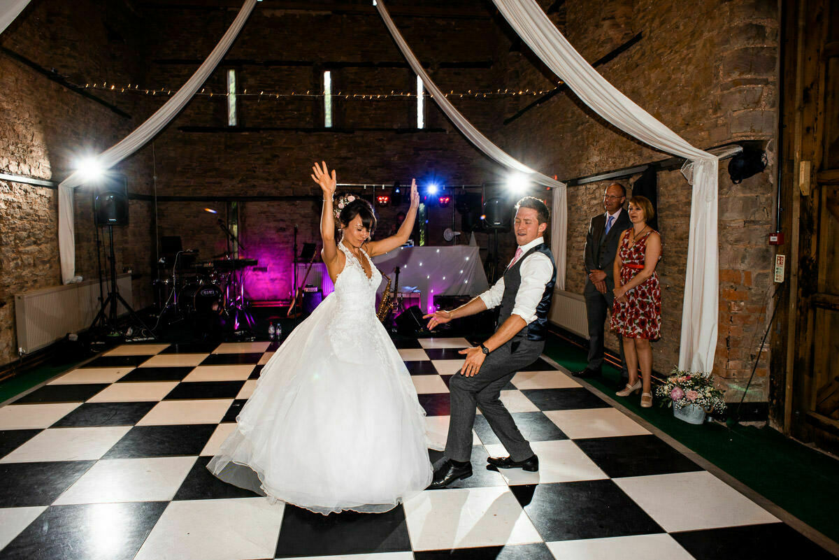 First dance song at Lyde Arundel wedding
