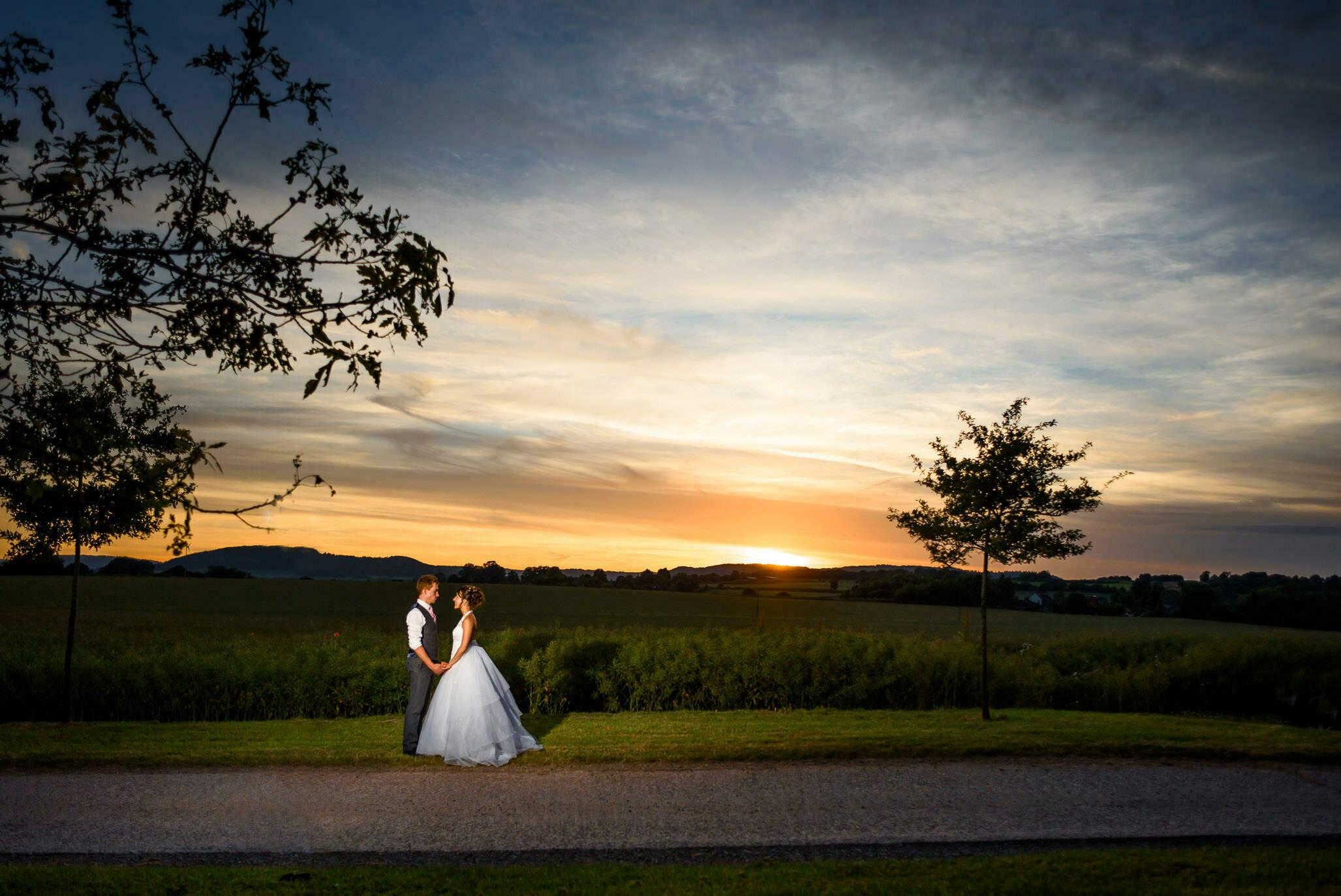 Wedding photo at Lyde Arundel