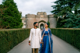 Asian weddings Eastnor castle