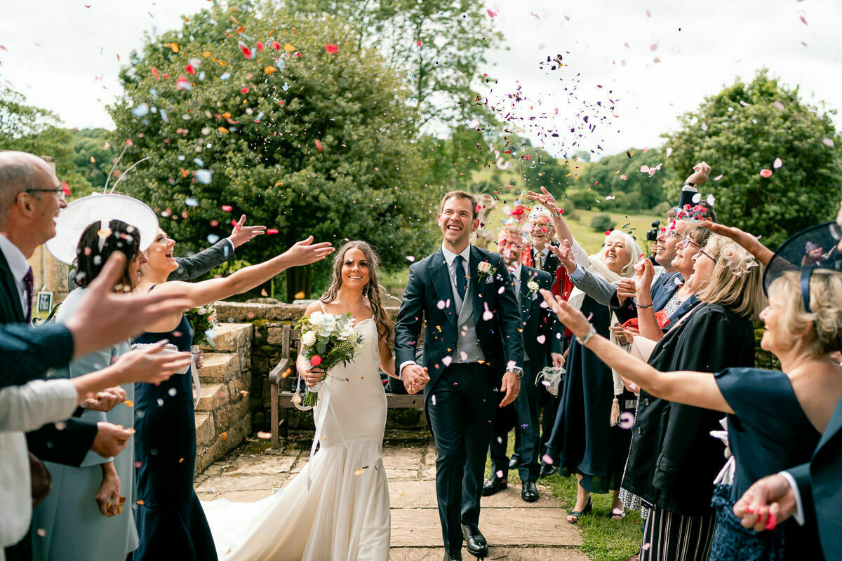Cotswolds wedding confetti