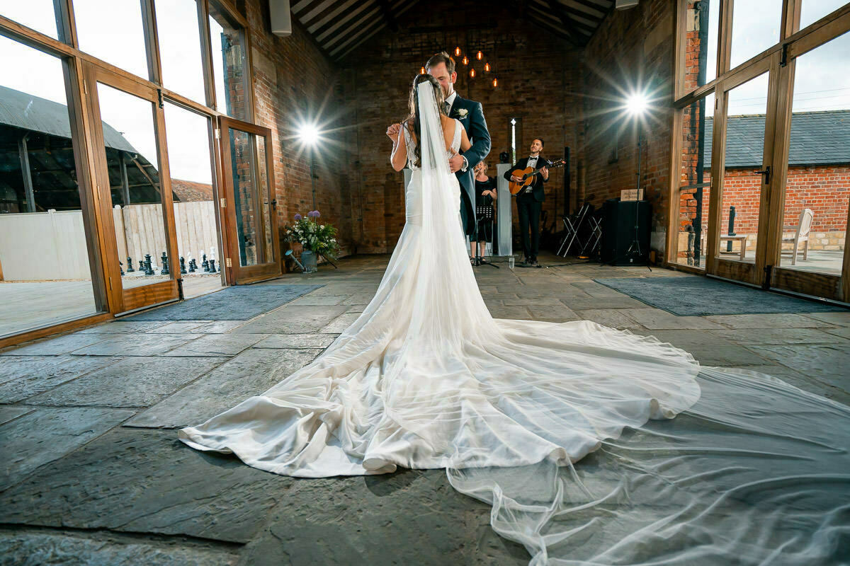 First dance at Mickleton Hills Farm