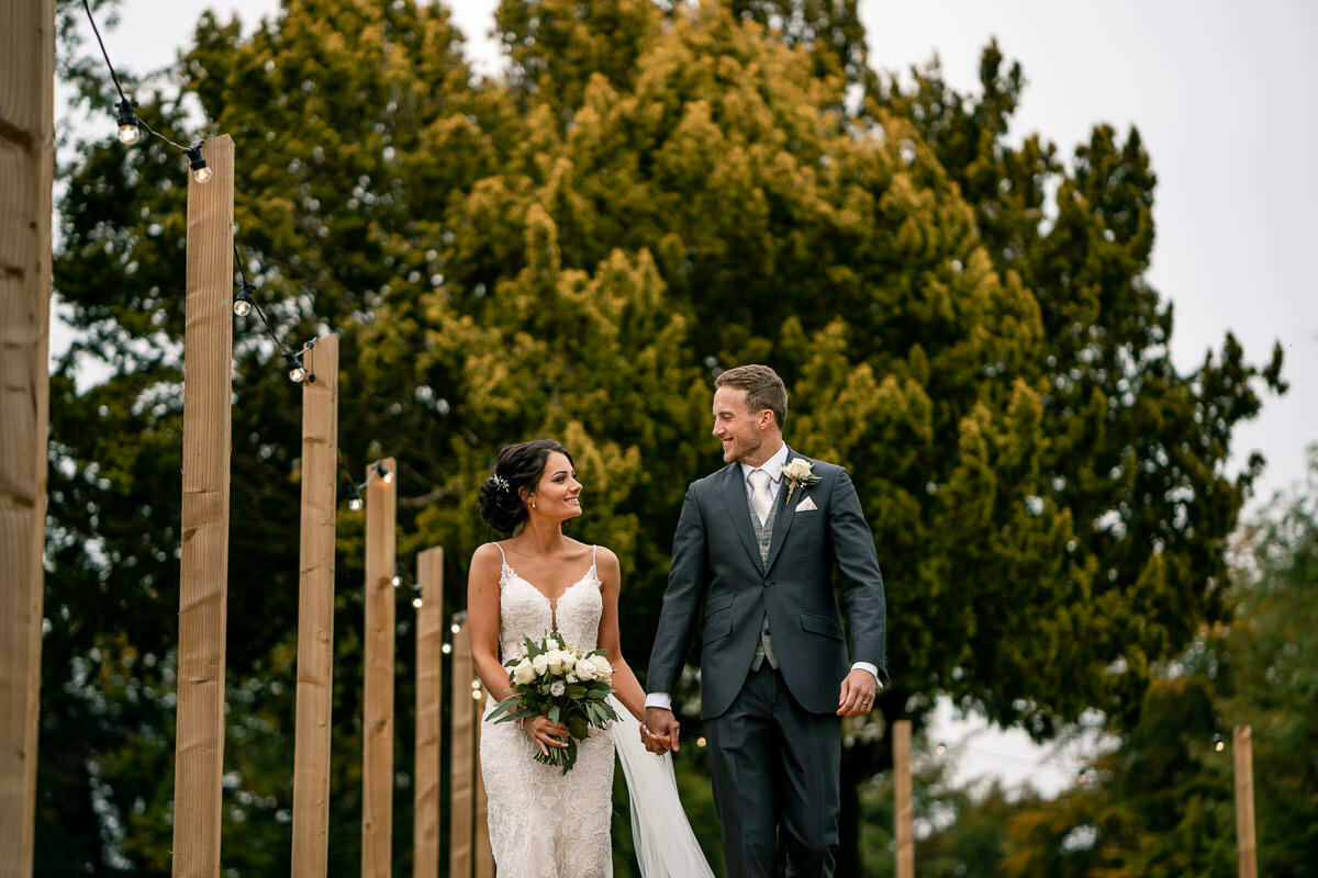 Wedding photographer at bredenbury court barns wedding