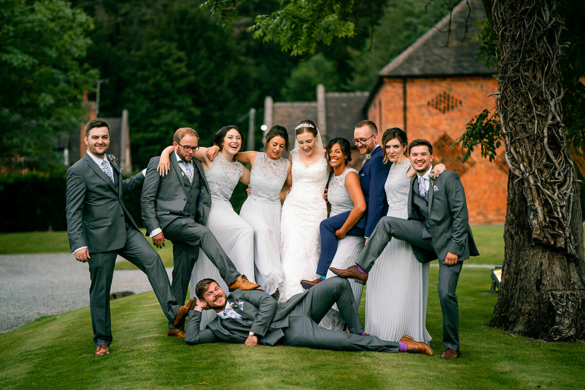 Shustoke Barns wedding
