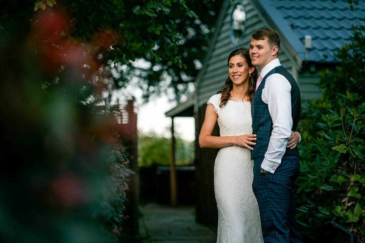 Lemore Manor bride and groom