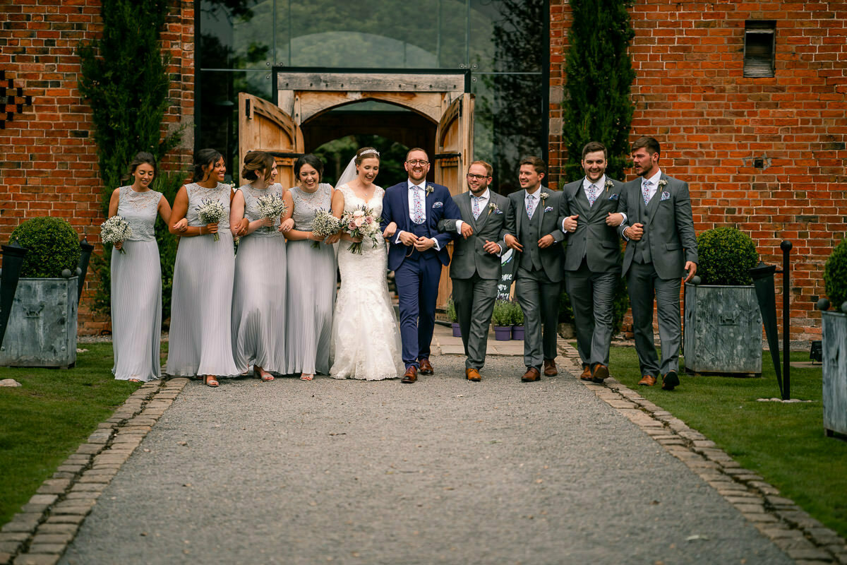 shustoke barn bridal party