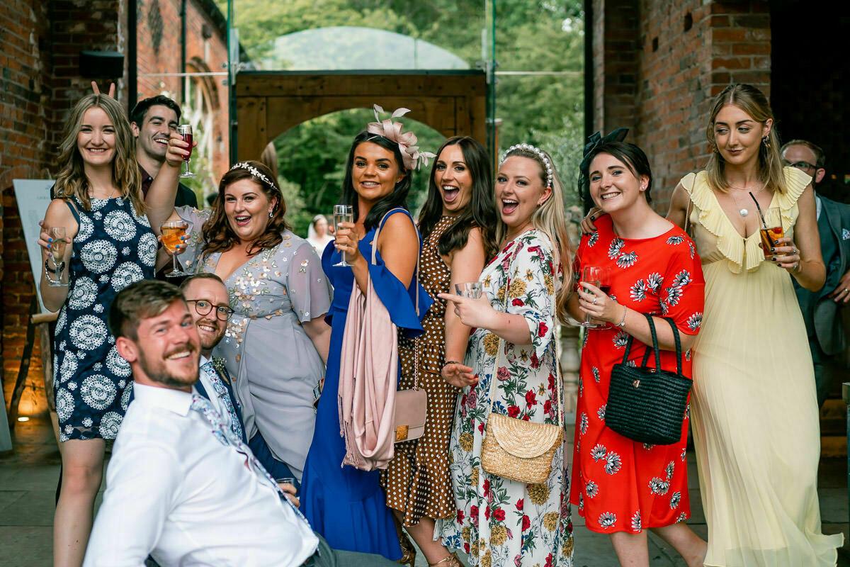 shustoke barn wedding guests